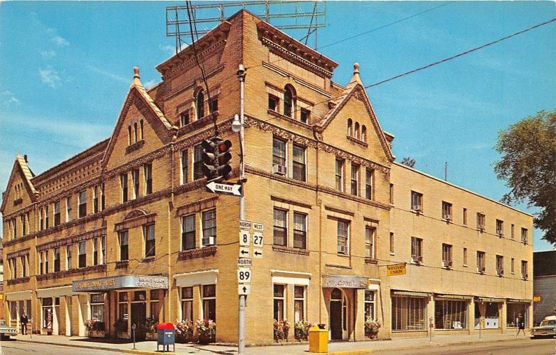 Usville Pennsylvania Colonel Drake Hotel Western Union Road Signs 1960s Pc