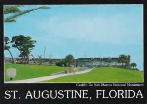 Florida St Augustine Castillo De San Marcos National Monument