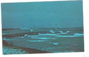 An early winter storm over Lake Michigan, Charlevoix, Michigan,   40-60s