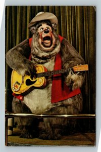Walt Disney World, Country Bear Jamboree, Vintage Orlando Florida Postcard