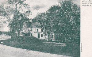 PAWTUCKET , Rhode Island, 1901-07 ; Daggett House, Memorial Park