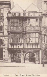 LONDON , England , 1900-10s ; 17 Fleet Street ; TUCK 2178