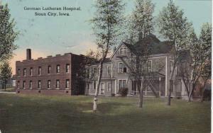 German Lutheran Hospital, Sioux City, Iowa, PU-1913