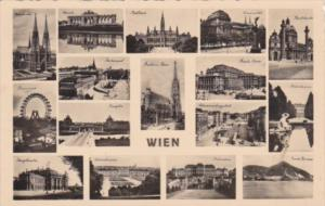 Austria Wien Vienna With Multi Views 1935