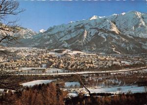BG13343 bad reichenhall mit hohem goll predigtstuhl lattengebirge  germany