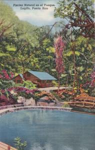 LUQILLO , Puerto Rico, 30-40s ; Piscina Natural en el Yunque