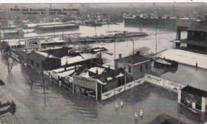 Kentucky Louisville Barrel and Broadway Looking West 1937 Flood
