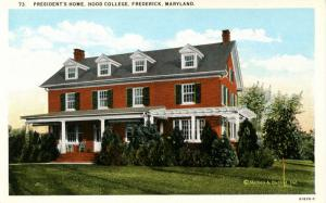 MD - Frederick. Hood College, President's Home