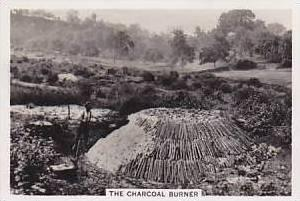 Pattreiouex Vintage Cigarette Card Our Countryside 1938 No 36 The Charcoal Bu...