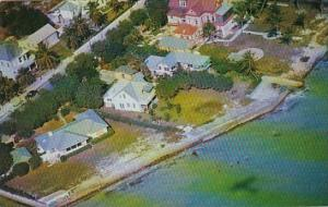 Florida Key West Aerial View Southernmost House In The United States