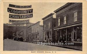 Main Street Roscoe NY Unused