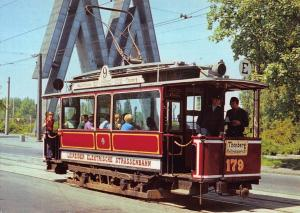 Postcard Historic RAILCAR 179 In LEIPZIG Germany