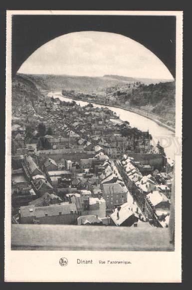 112411 Belgium DINANT Vue Panoramique Old postcard