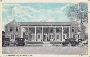 New Forrest Hotel and Cafe Nephi, Utah, PU-1928