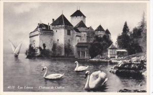Switzerland Lac Leman Chteau de Chillon Photo