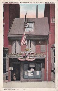 Pennsylvania Philadelphia Betsy Ross House 1929