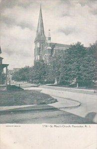 Saint Marys Church Pawtucket Rhode Island
