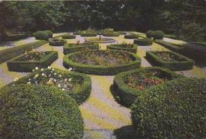 North Wales Formal Gardens Ruthin Castle