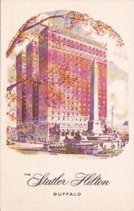 New York Buffalo The Statler Hilton Hotel