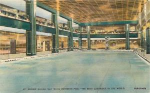 Colorpicture St. George Hotel Swimming Pool interior Brooklyn New York 9588