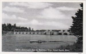 Minnesota Grand Rapids Government Dam On Mississippi Curteich