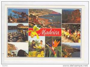 MADEIRA, 1970s 9-view, Funchal