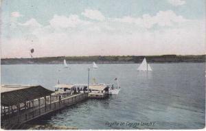 Cayuga Lake NY, New York  - Sailing Regatta DB