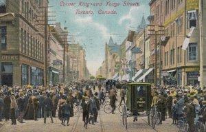 TORONTO , Ontario , Canada , 1900-10s ; King & Yonge & Streets