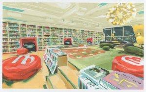 Martinus Martin Slovakia Slovakian Book Shop Oil Painting Postcard