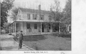 Little York New York Raymond House Antique Postcard J56681