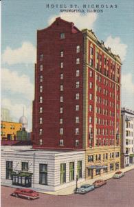 Hotel St. Nicholas, Classic Cars, SPRINGFIELD, Illinois, 20-30's