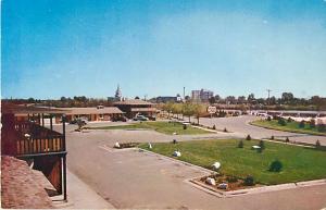 Westbank Motel, Idaho Falls, ID, pre-zip code Chrome