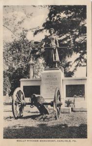 CARLISLE, Pennsylvania; 1910-20s; Molly Pitcher Monument