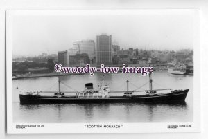 cb0508 - Monarch SS Co Cargo Ship - Scottish Monarch , built 1959 - postcard
