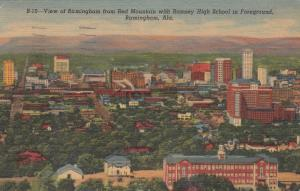 BIRMINGHAM , Alabama , 1955; View from Red Mountain