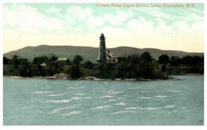 17360   NY Lake Champlain  Crown Point Light