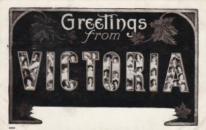 VICTORIA , B.C. , Canada , 1900-10s ; Large Letters