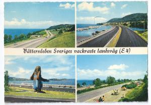 Sweden Lake Vättern Highway Vackraste Landsväg 1972 4X6