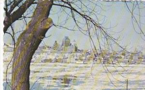 Canada La Traverse en hiver Quebec
