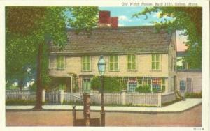 Old Witch House, Built 1635, Salem, Mass early 1900s unus...