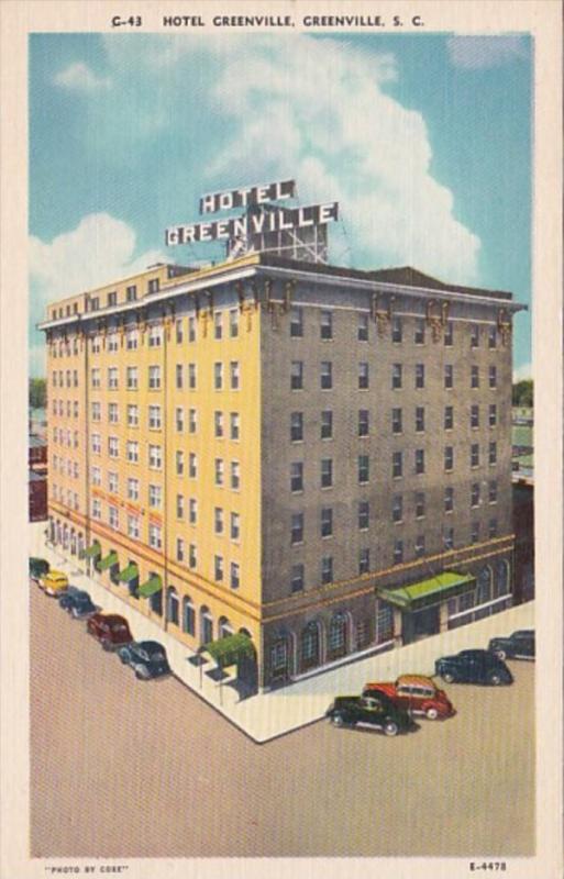South Carolina Greenville Hotel Greenville