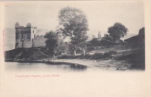 SCOTLAND, 1900-1910's; Urquhart Castle, Loch Ness