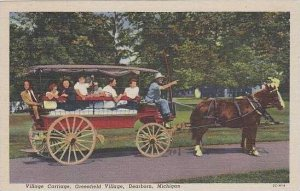 Michigan Dearborn Greenfield Village Village Carriage
