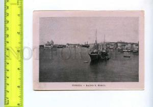 204407 ITALY VENEZIA Basin of San Marco Vintage card