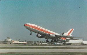 GARUDA Indonesian Airways Douglas Dc-10-30 airplane ,  60-80s