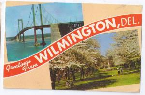 Greetings from Wilmington DE Delaware Memorial Bridge