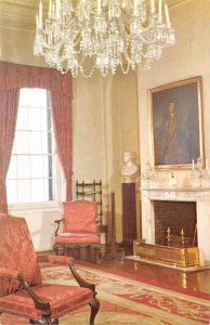 Civil War Post Cards State drawing room General E, Lee, USA Unused
