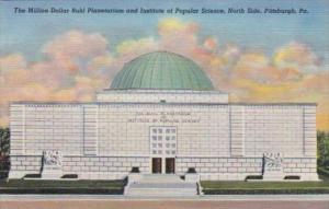 Pennsylvania Pittsburgh Buhl Planetarium & Institute Of Popular Sciene North ...