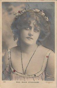 RP: Female Head Portrait , Miss Marie Studholme , 00-10s