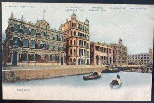 Mint USA Picture Postcard Chinese Export & Import Bank Hong Kong Telegraph